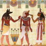 Dibujo de faraón de Egipto