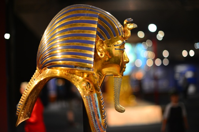 Busto de Tutankamón, uno de los faraones de Egipto