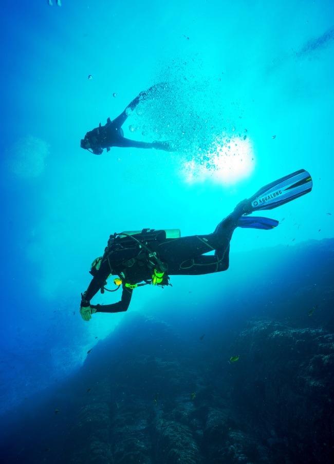 Buceo en las islas