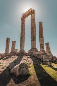 Ruinas antiguas en Amán
