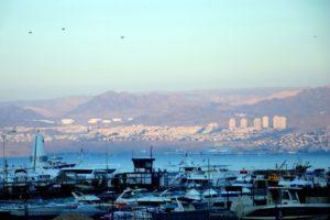 El Mar Rojo en Aqaba, Jordania