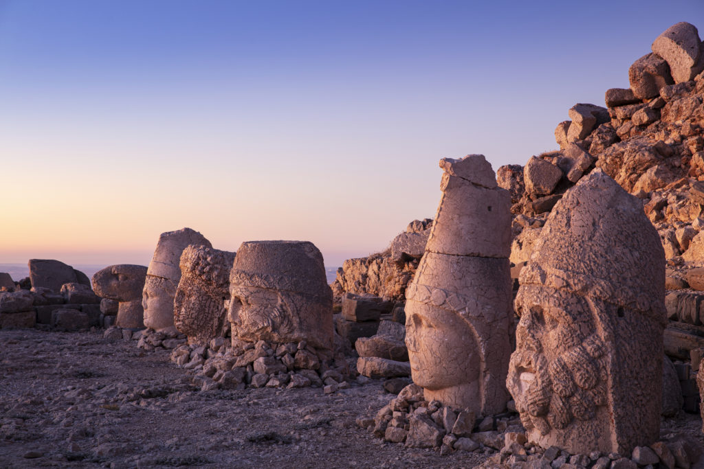 Monte Nemrut - cabezas